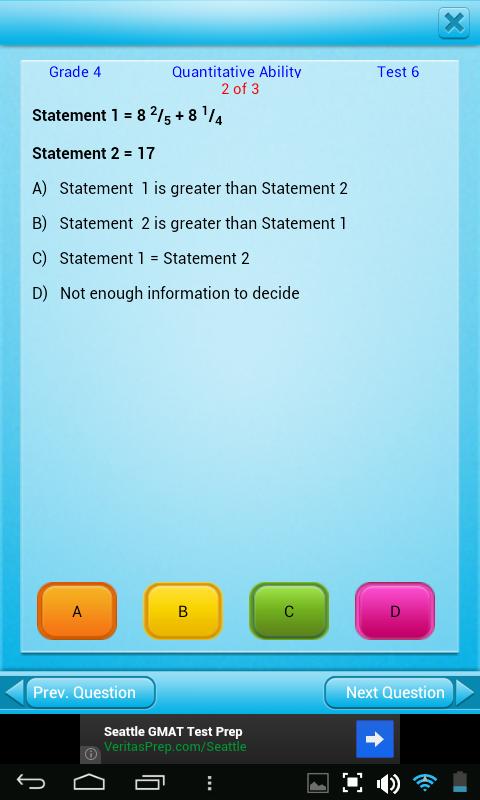 Amazon.com: QVprep Lite 4th grade maths (quantitative) and english ...