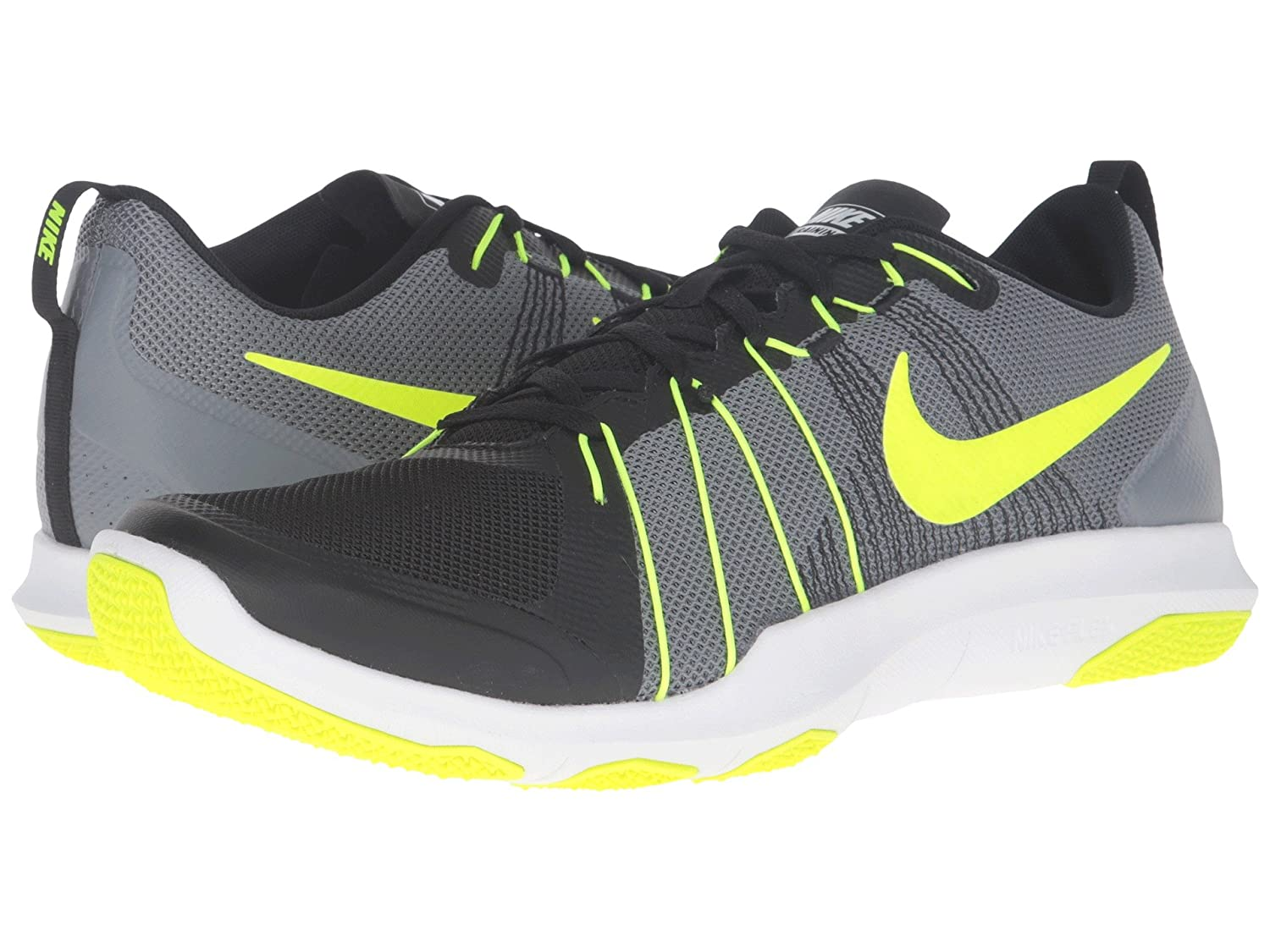 new product 5b5d5 5c531 Nike Men Black Flex Train Aver Training Shoes (7 UK India)  Buy Online at  Low Prices in India - Amazon.in