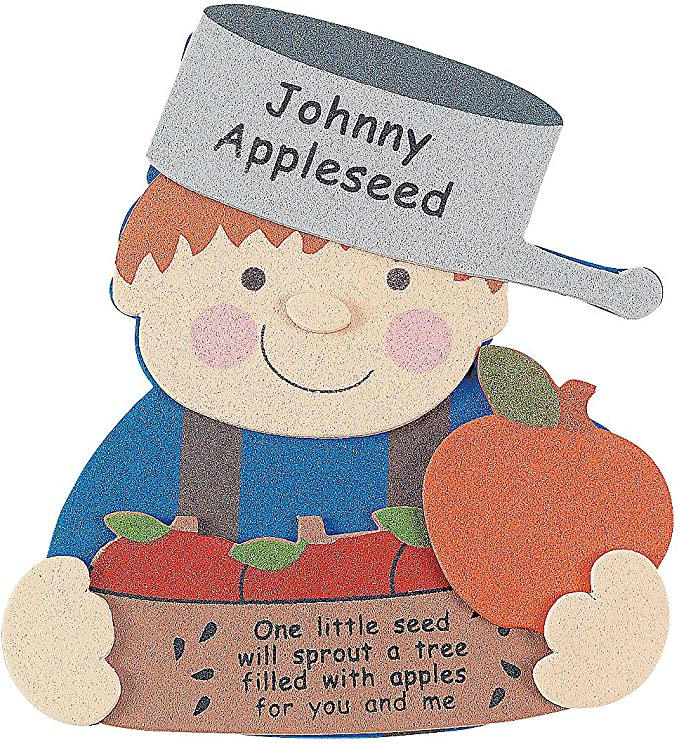 Amazon Com Johnny Appleseed Magnet Craft Kit For Kids Makes 12 Fall School Crafts And Fun Home Activities Toys Games