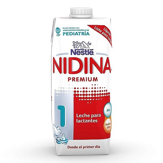 NESTLÉ NIDINA 1 - Desde el primer día - Leche para lactantes líquida - Fórmula para