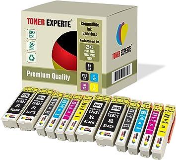 Pack de 12 XL TONER EXPERTE® Compatibles 26 26XL Cartuchos de Tinta para Epson Expression Premium XP-620 XP-615 XP-600 XP-700 XP-800 XP-820 XP-720 XP-520 XP-605 XP-625 XP-510 XP-710 XP-610 XP-810: Amazon.es: Electrónica
