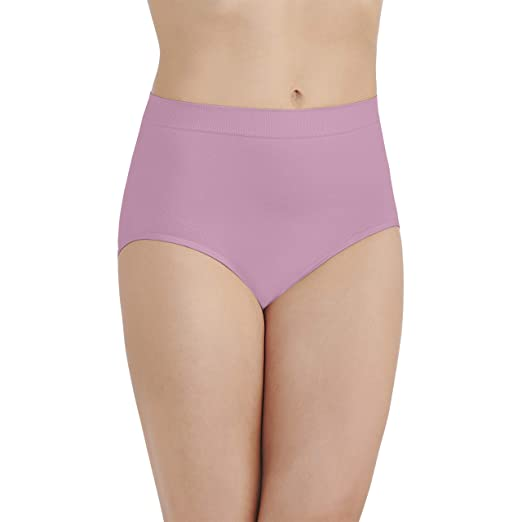 d920c6214d9 Vanity Fair Women's Smoothing Comfort Seamless Brief Panty 13264, Lightly  Lilac, Medium/6