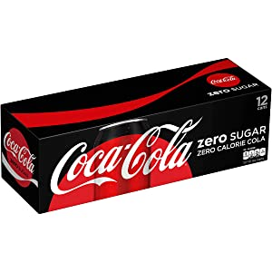 Coca-Cola, Zero Soda, 12 oz (pack of 12)