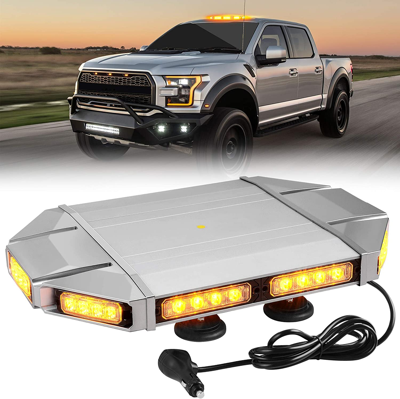 Amber LED Roof Top Strobe Light Bar