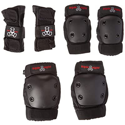 Triple Eight JR Derby Pad Set with Wristguards/Elbow/Knee, Junior : Sports & Outdoors