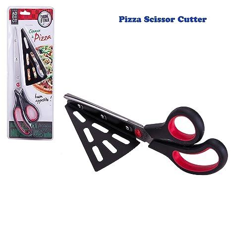 Amazon.com: Pizza - Cortador de tijeras multifuncionales ...