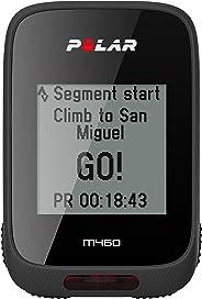 Ciclo Computador com GPS, Polar, M460, Acessórios para Wearables, Preto, Único