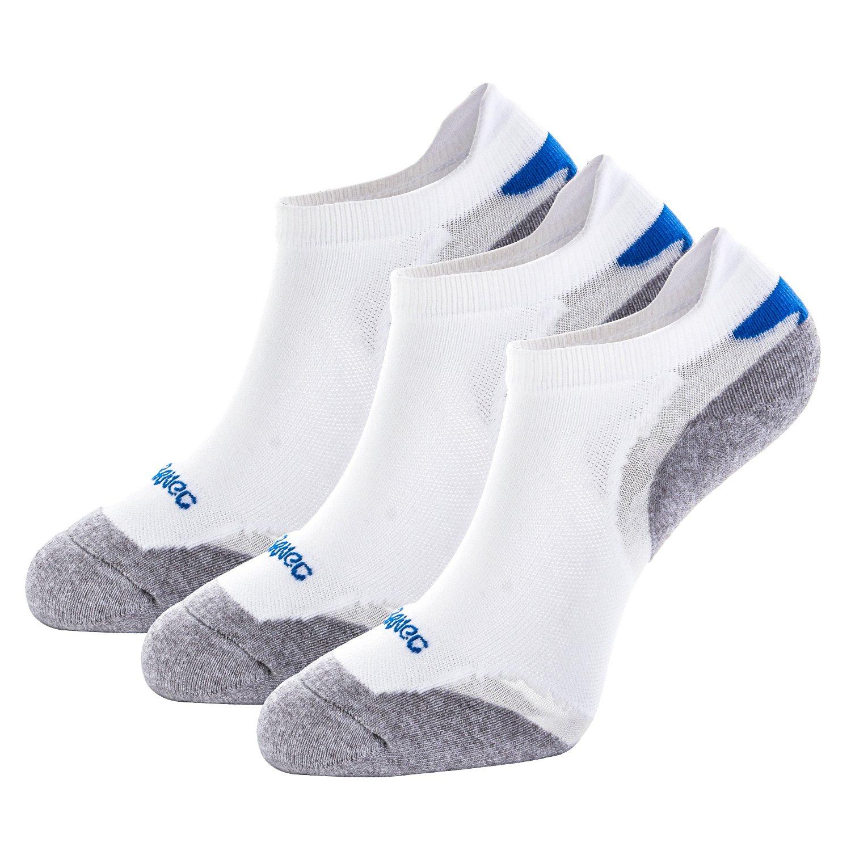 Weekend Peninsula 3 Pares Calcetines Deporte Running Hombres Mujer Unisexo de Deportivos Antiampollas Coolmax Cortos de Algodon