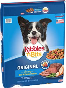 Kibbles 'N Bits Original Dry Dog Food Original Savory Beef & Chicken