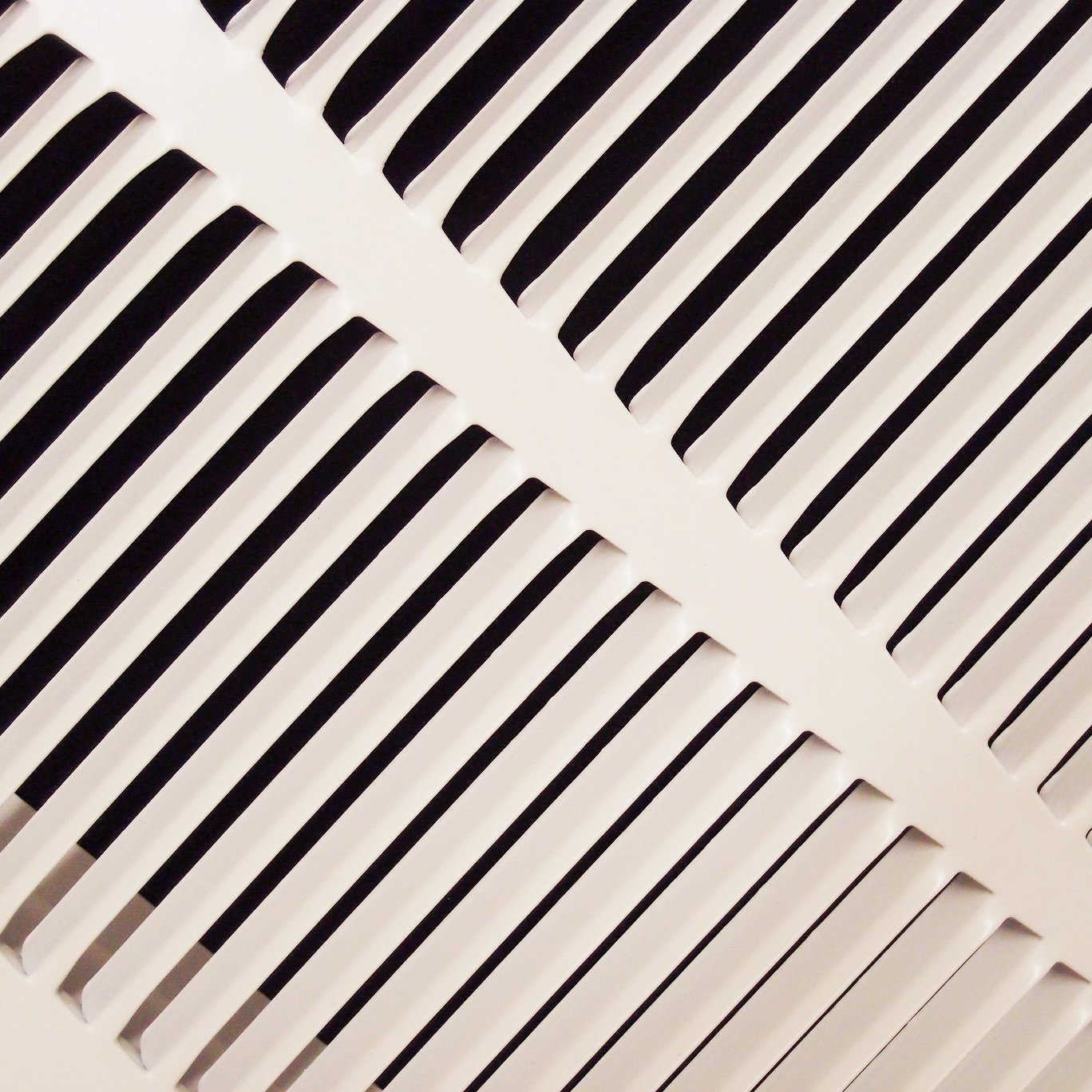 14'' X 20 Steel Return Air Filter Grille for 1'' Filter - Fixed Hinged - ceiling Recommended - HVAC DUCT COVER - Flat Stamped Face - White [Outer Dimensions: 16.5''w X 22.5''h] by HVAC Premium (Image #8)