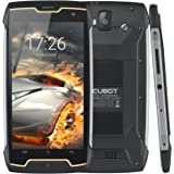 CUBOT Rugged Smartphone, KING KONG (2018) Unlocked Sim Free Mobile Phone, 4400mAh Big Battery, Compass+GPS, Android 7.0, 3G Dual-SIM, 2GB RAM+16GB, IP68 Waterproof Shockproof, Dustproof, 5 inch HD IPS Touch Screen,WIFI, Bluetooth Cell Phone
