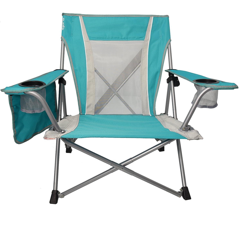 Kijaro Coast Dual Lock Portable Beach Wave Chair Ionian Turquoise 54076