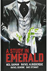 Neil Gaiman's A Study in Emerald Hardcover