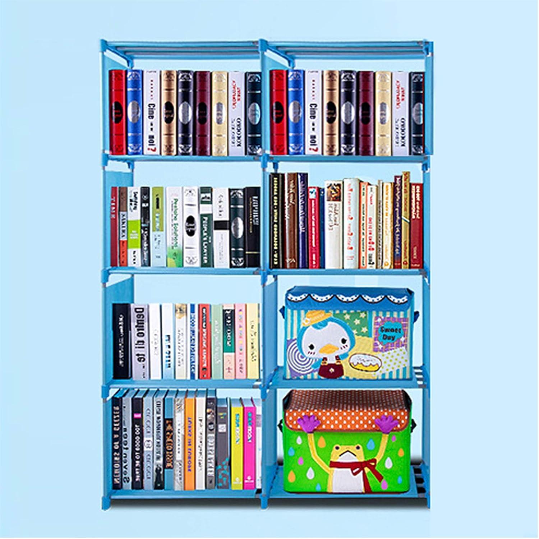 amdirect 4 shelf portable bookcase storage adjustable