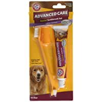 Arm & Hammer Advanced Care Tartar Control Beef Flavoured Toothpaste and Brush Set
