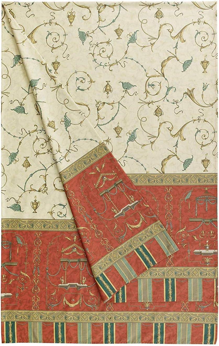 Bassetti Oplontis. Altaj, algodón, Rojo, 180x 270cm