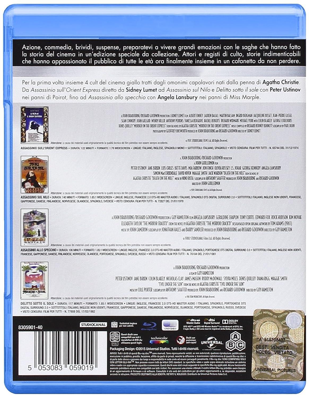 Agatha Christie Collection 4 Blu-Ray Italia Blu-ray: Amazon ...
