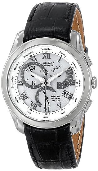 Citizen BL8000-03A - Reloj de cuarzo para hombre, correa de cuero: Amazon.es: Relojes