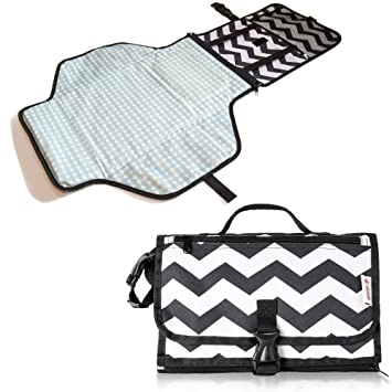 Amazoncom Cutieb Portable Changing Pad Diaper Clutch With