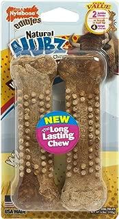 product image for Nylabone Nubz Wild Chews Bison, Jumbo 2ct