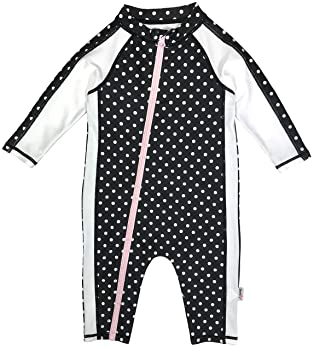 SwimZip Baby Girls Swim Sunsuit