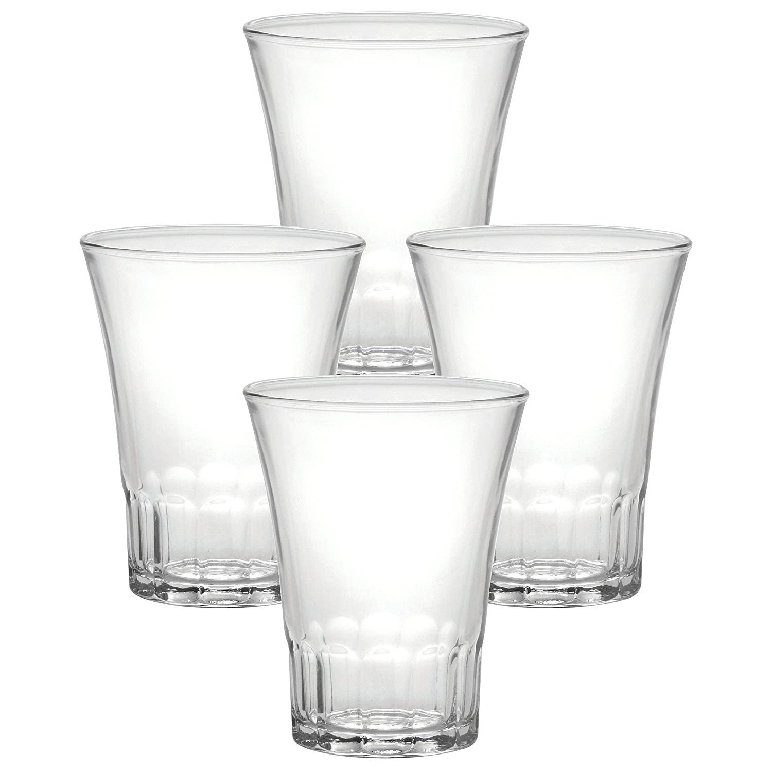 Duralex Amalfi Cl.21 Acqua Set of 4 Shot Glasses 1005AC04/4