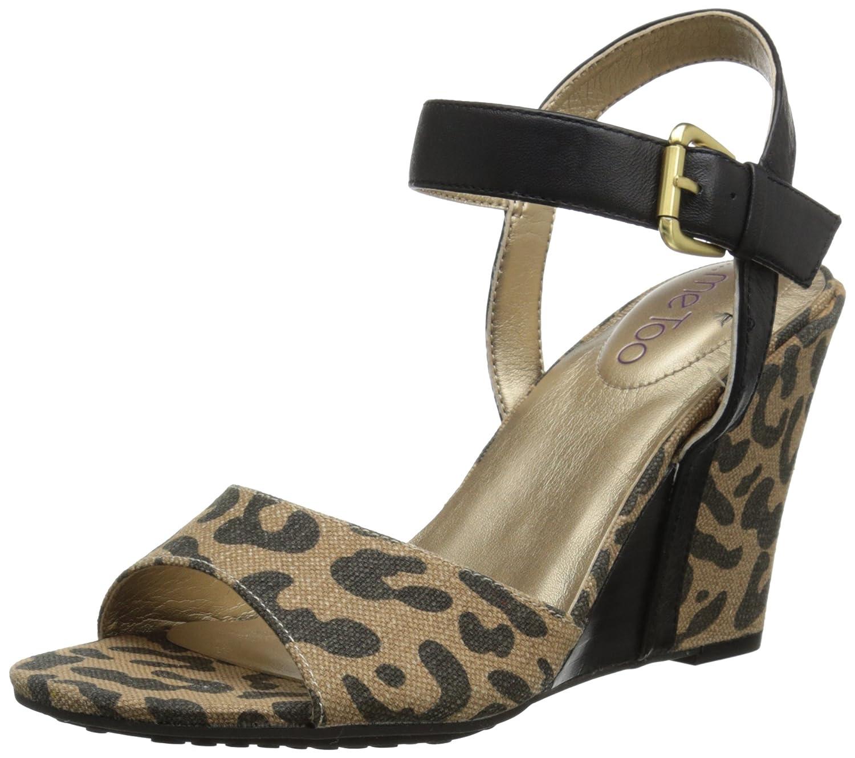 Me Too Women's Lucie12 Dress Sandal B00QWQDAVW 7 B(M) US|Leopard