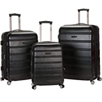 Rockland Melbourne 3 Pc Abs Luggage Set