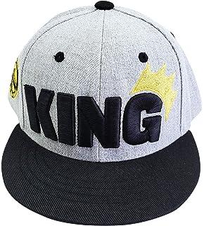 795a2dbceeb Agibaby Infant   Toddler Kids Hip Hop Snapback Flat Brim Hat Baseball Cap -  King Embroidered