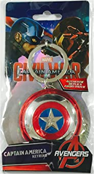 Captain America Civil War Pewter Key Ring