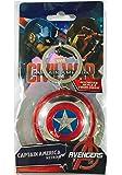 Marvel Avengers 2 Captain America Shield Pewter Key Ring