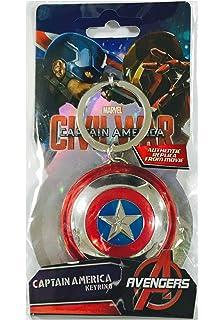 Amazon.com: Marvel Iron Man 3 Arc Reactor Pewter Key Ring ...