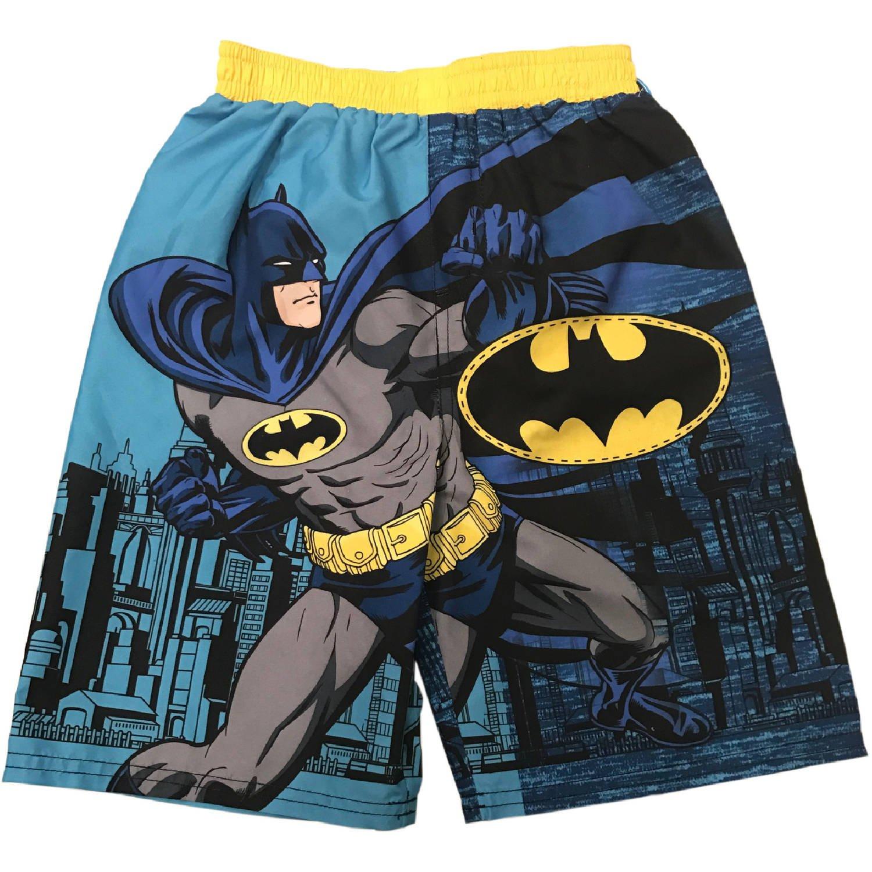 DC Comics Batman Boys Swimming Board Shorts Trunks