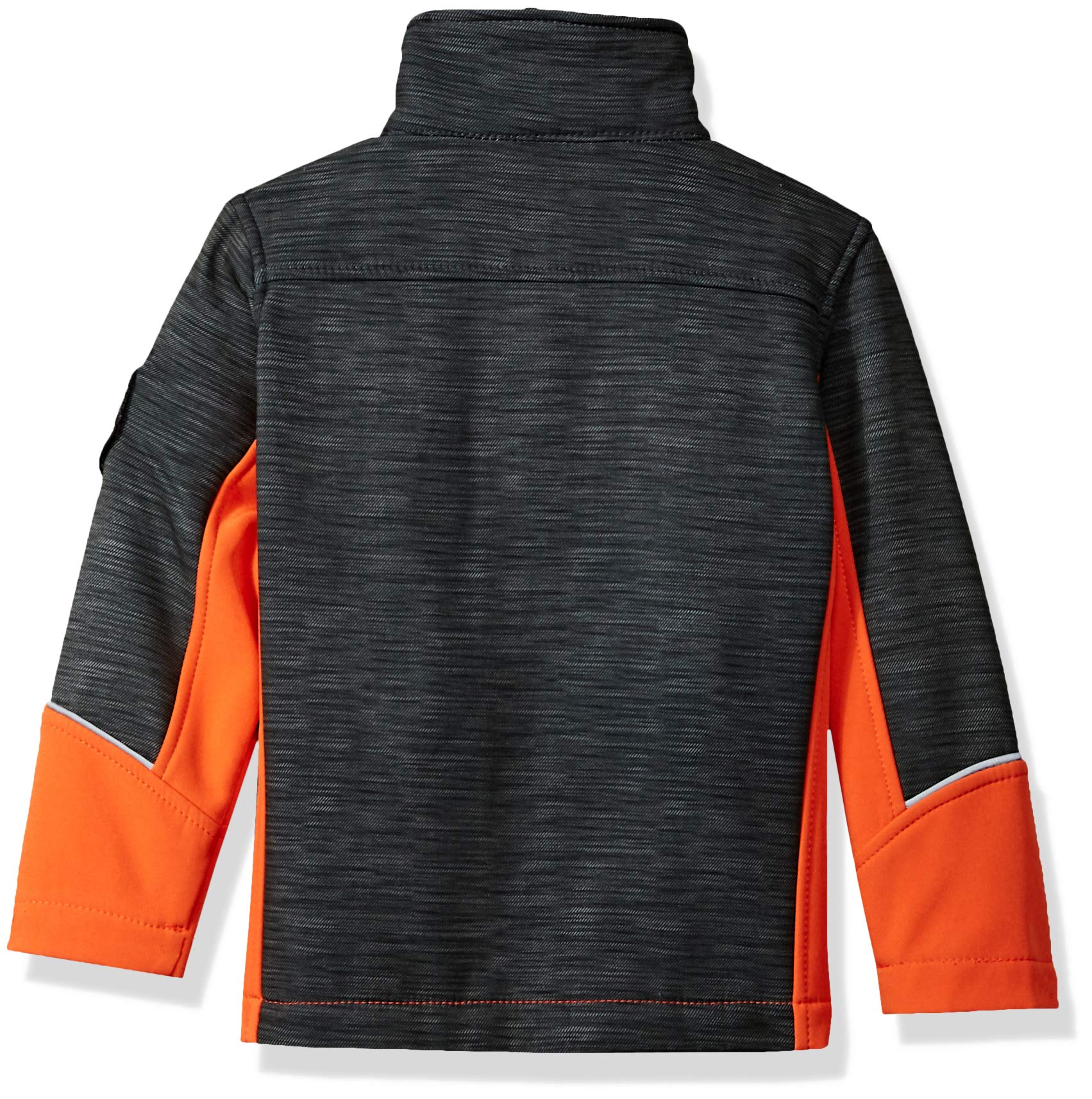 32 DEGREES Weatherproof Weatherproof Little Boys Outerwear Jacket (More Styles Available), Zip Pockets Orange, 4 by 32 DEGREES (Image #2)