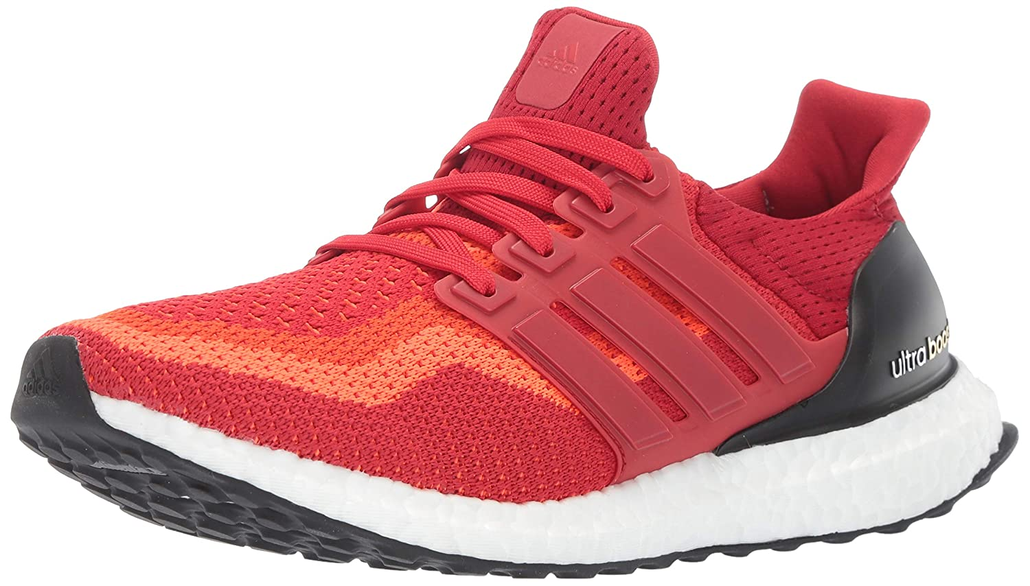 Solar Red Power Red Black adidas Performance Men's Ultra Boost M Running shoes
