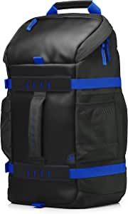 HP 15.6Odyssey Backpack, Black/Blue
