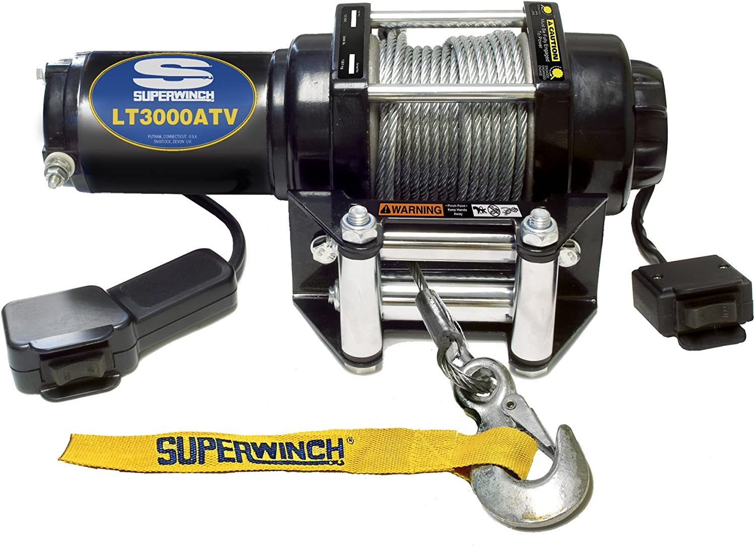 10 Best Electric Winches in 2021 Reviews| Buying Guide [Heavy Duty Winches] 1