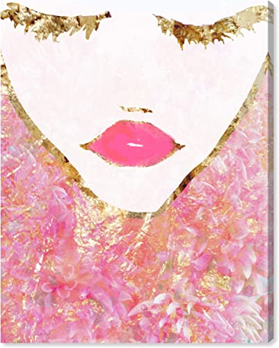 Oliver Gal 'Goldbloom Coveted' The Fashion Wall Art Decor Collection Modern Premium Canvas Art Print