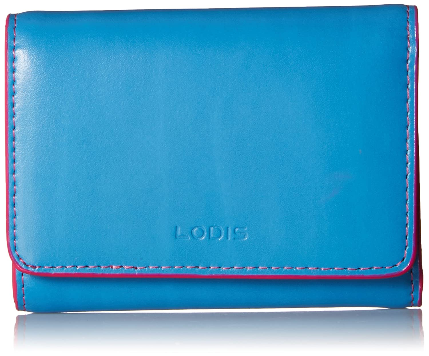 bluee Hot Pink Lodis Audrey Rfid Mallory French Purse