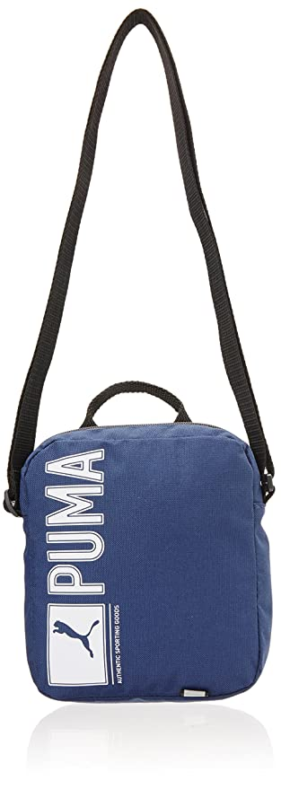 8efcf9f7e805 Puma Polyester Blue Messenger Bag (7347202)  Amazon.in  Bags ...