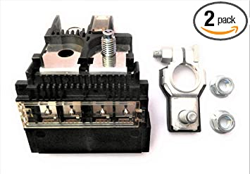 Amazon Com Positive Battery Fuse Block Terminal Kit With Two M8