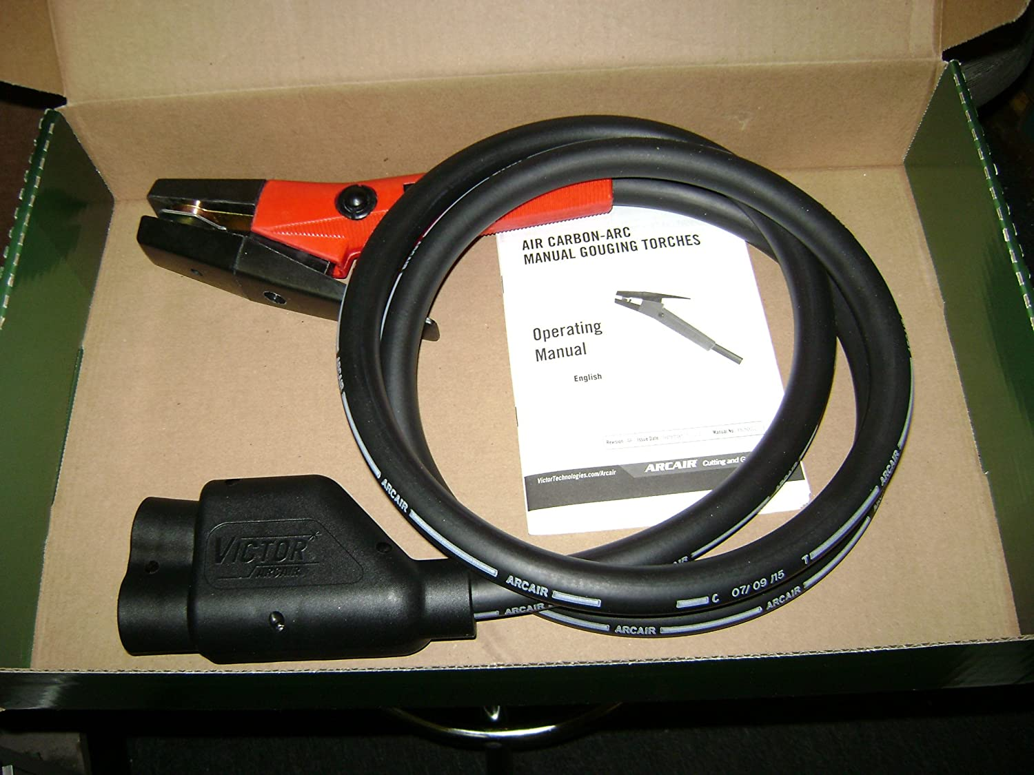 CARBON ARC GOUGING TORCH with 7/' cable ARCAIR K4000 NEW IN BOX 1000 AMP
