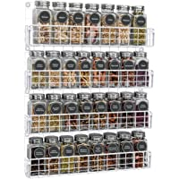 X-cosrack 4-Tier Spice Racks Organizer Wall Mounted