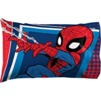 Jay Franco Marvel Super Hero Adventures Go Spidey 1 Pack Pillowcase - Double-Sided Kids Super Soft Bedding - Features Spiderman (Official Marvel Product)