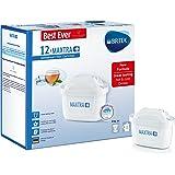 BRITA Maxtra+ Water Filter Cartridges, White, Pack of 12 (UK Version)