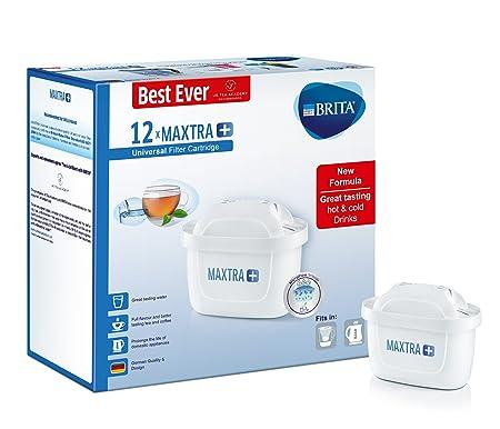 brita maxtra+ water filter cartridges, white, pack of 12 (uk version ...