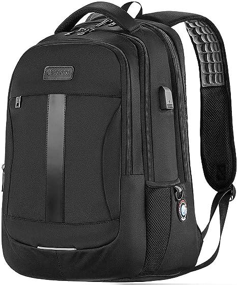 Mens Travel Backpack Oxford Bags Waterproof Laptop Backpacks Anti Theft Backpack black