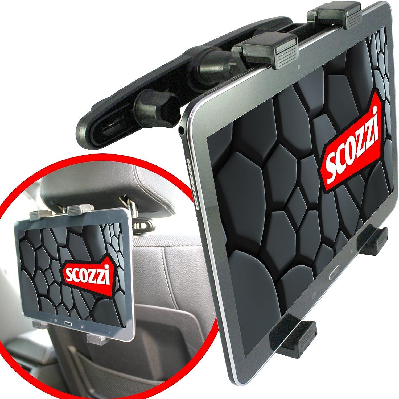 Scozzi Tablet Halterung Auto Kopfstütze Rücksitz Halter Elektronik