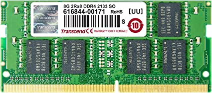 8GB RAM Memory Intel R1304WTTGS - Reg PC4-2133 DDR4-17000
