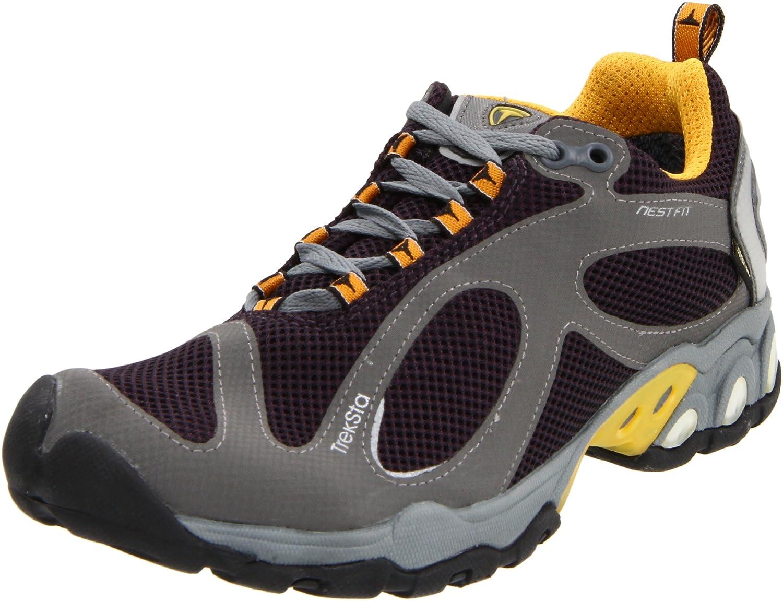 Amazon.com | Treksta Women's Evolution GTX Trail Running Shoe, Plum/Gold, 6  M US | Trail Running